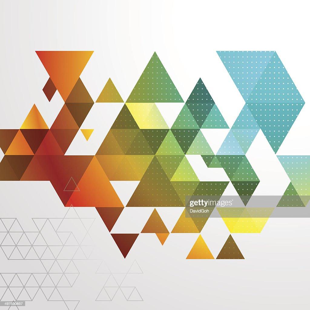 Abstract Triangle BG : stock illustration