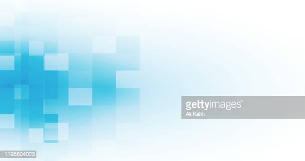 stockillustraties, clipart, cartoons en iconen met abstracte driehoek geometrische achtergrond - lichtblauw