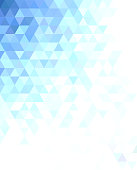 Abstract triangle mosaic background design