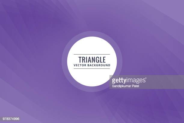 abstract triangle shapes purple background - purple background stock illustrations