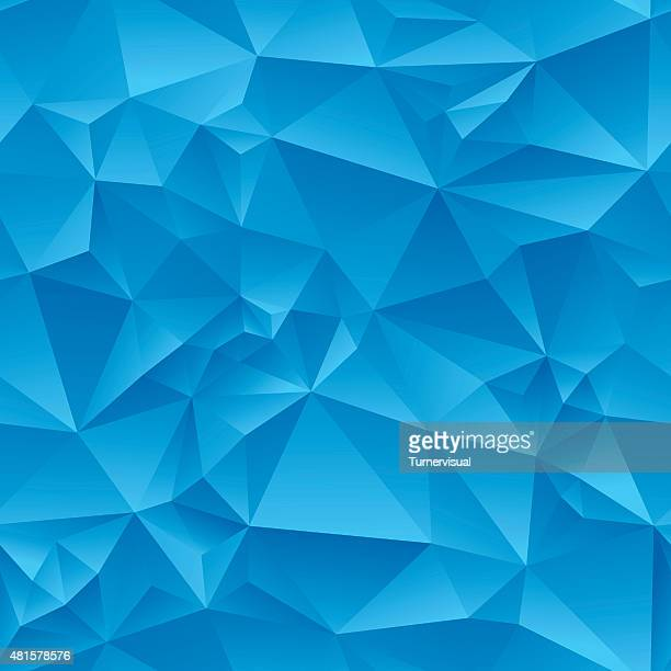 Abstract Triangles Seamless Tile