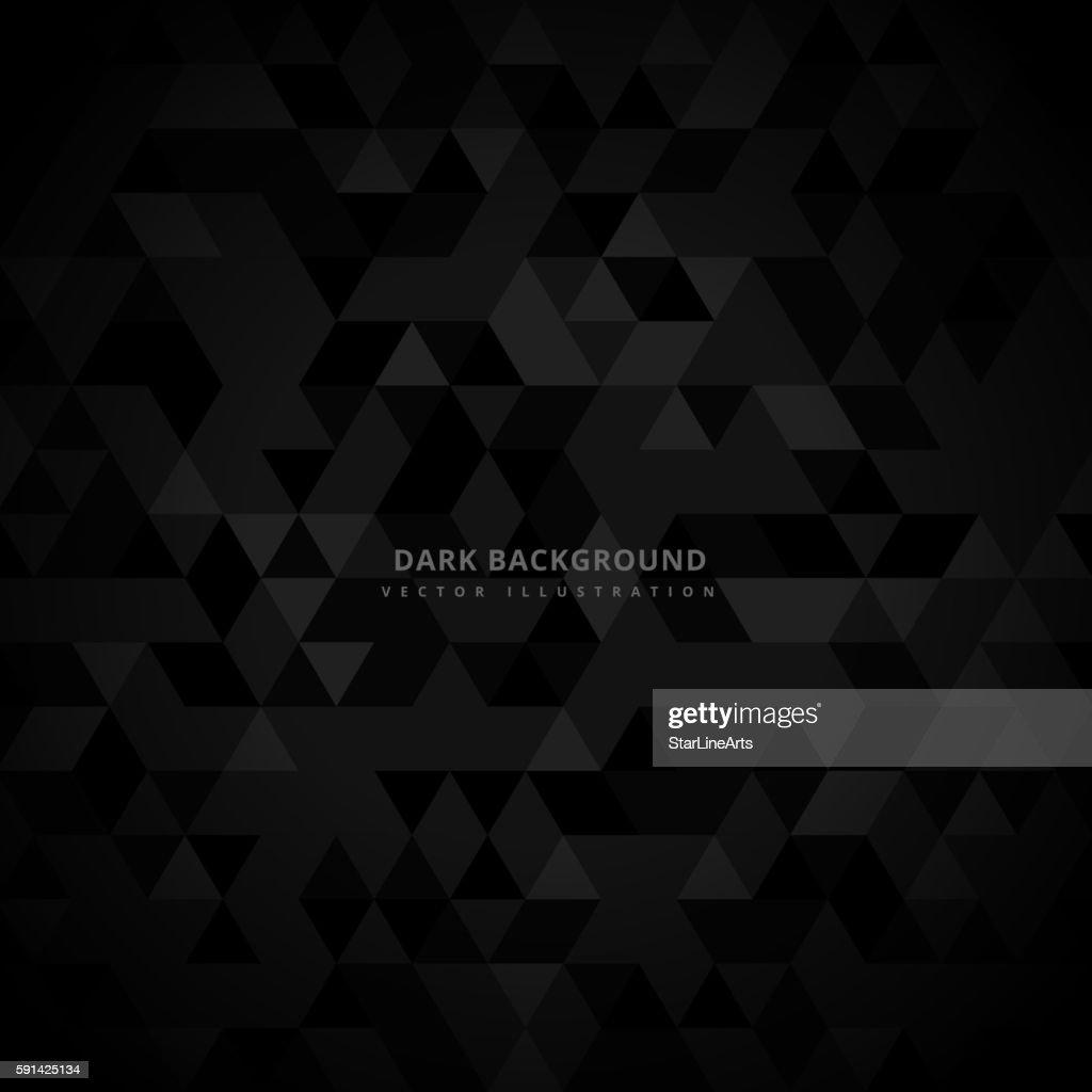 abstract trianglulated dark background