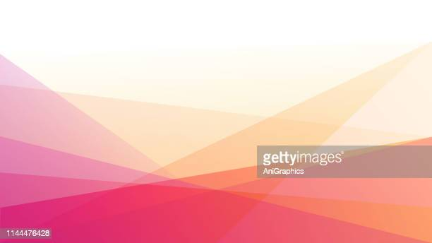 abstract triangular background - pink background stock illustrations