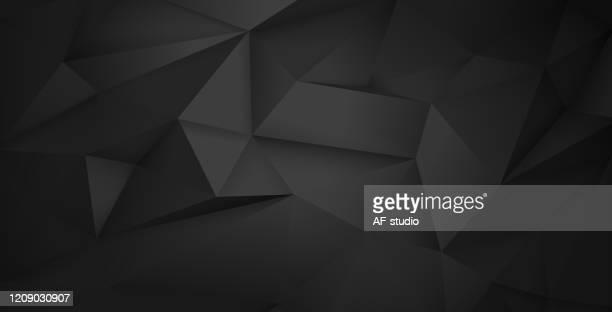illustrazioni stock, clip art, cartoni animati e icone di tendenza di abstract triangular background - triangolo forma bidimensionale
