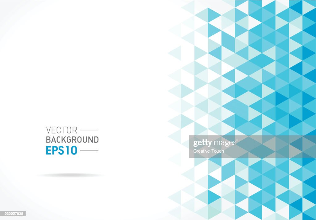 Abstract triangular pattern : stock illustration