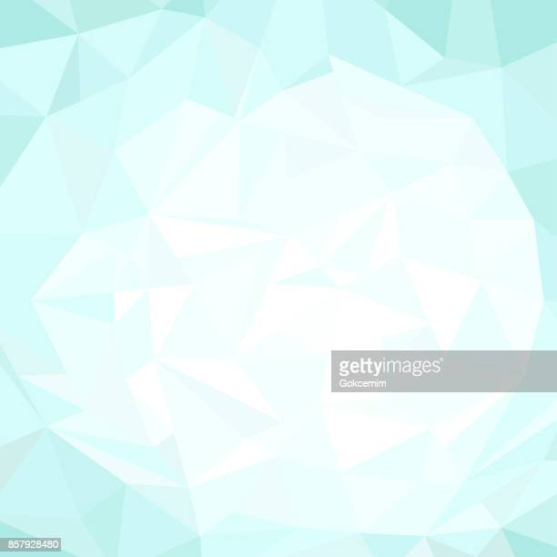 抽象的なターコイズ多角形三角形パターン背景 - ターコイズカラーの背景点のイラスト素材/クリップアート素材/マンガ素材/アイコン素材