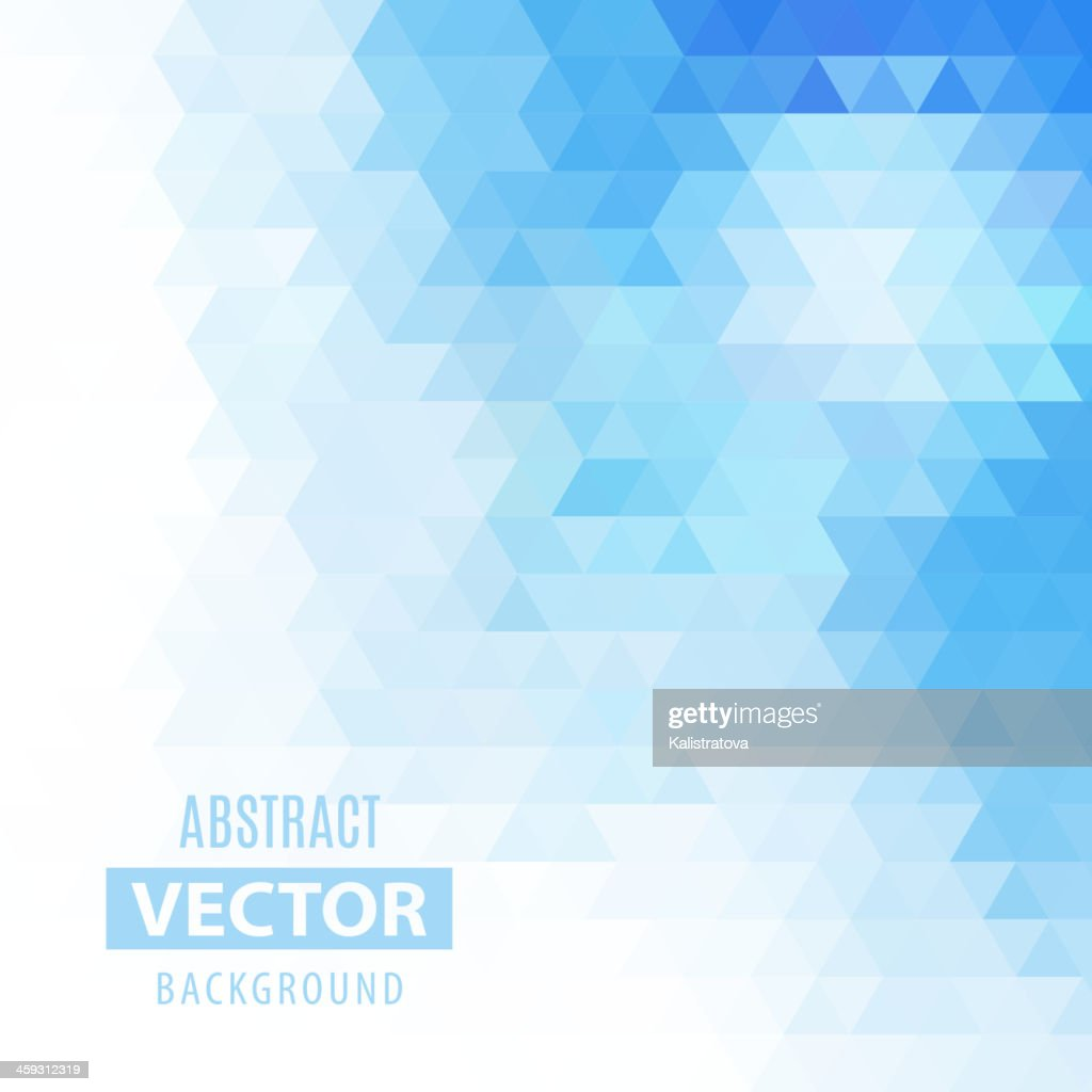 Abstract vector geometrical background