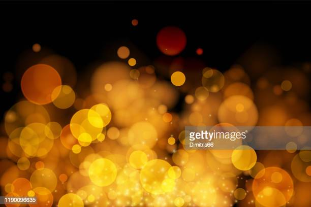 abstract vector gold bokeh background. - glamour stock illustrations