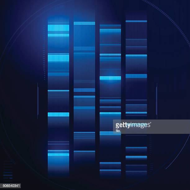 dna abstract - dna stock illustrations