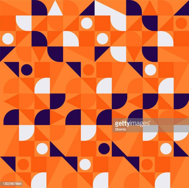 abstract vector pattern design - heading the ball stock illustrations