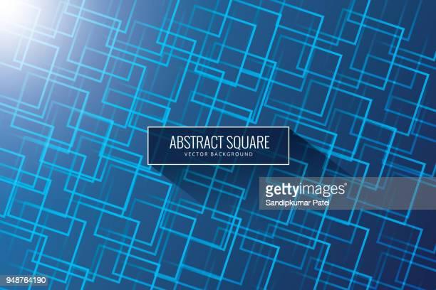 抽象的なベクトルのポスターの幾何学的なオブジェクト、線およびミニマリスト スタイルの明るいポイント - 放出する点のイラスト素材/クリップアート素材/マンガ素材/アイコン素材