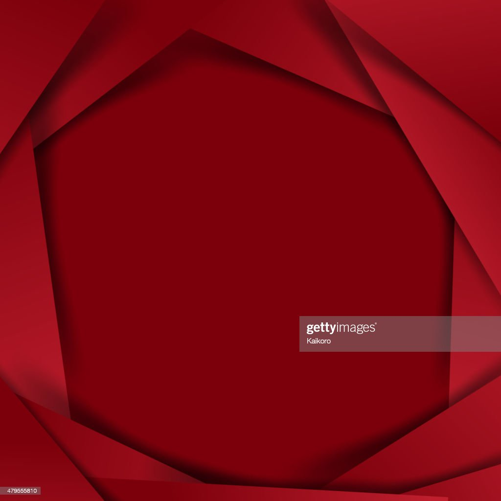 Abstract vector  red background overlap layer and shadow - vecto