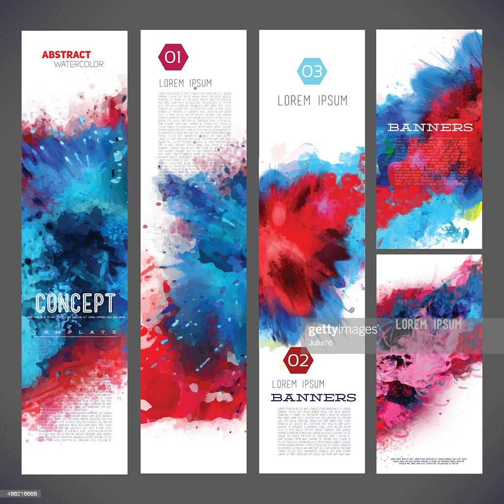 Abstract vector template banners, brochure, Web sites