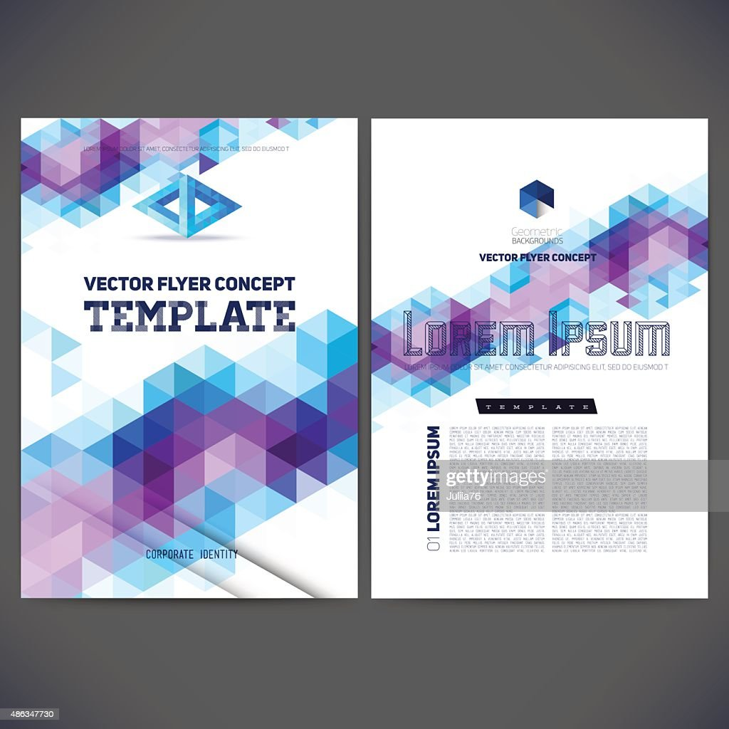 Abstract vector template design, brochure, Web sites, page, leaflet