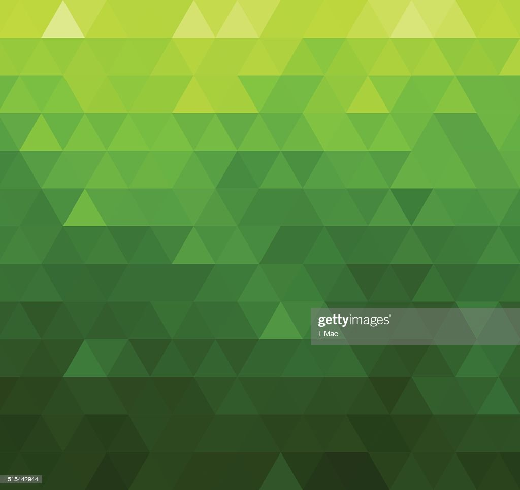 Abstract vector template design with colorful geometric triangular background for