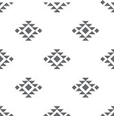 Abstract vector tribal ethnic background pattern.