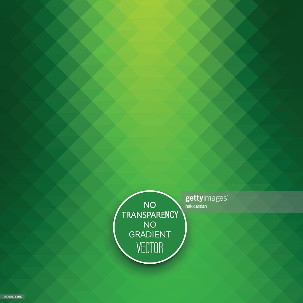 Abstract vibrant green geometric background