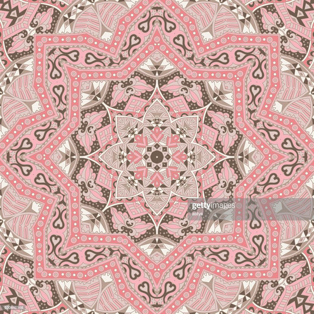 Abstract vintage ethnic tribal ornamental texture