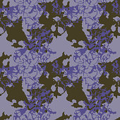Abstract violet, green and purple background as UFO camouflage