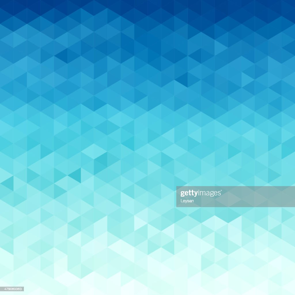 Abstract water  triangular pattern