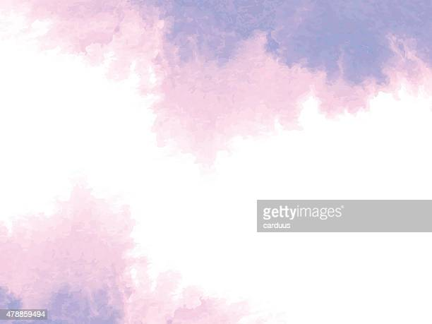abstract  watercolor background - purple stock illustrations