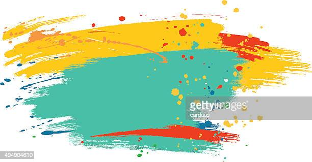 abstract  watercolor background - art and craft stock illustrations