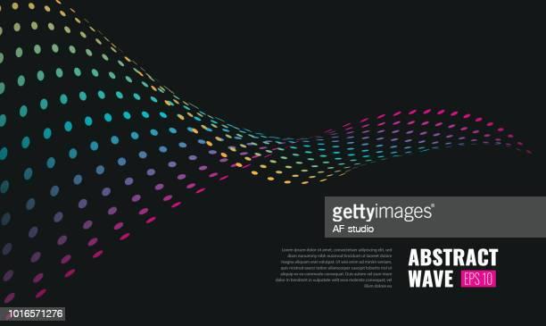 Abstract Wave Hintergrund