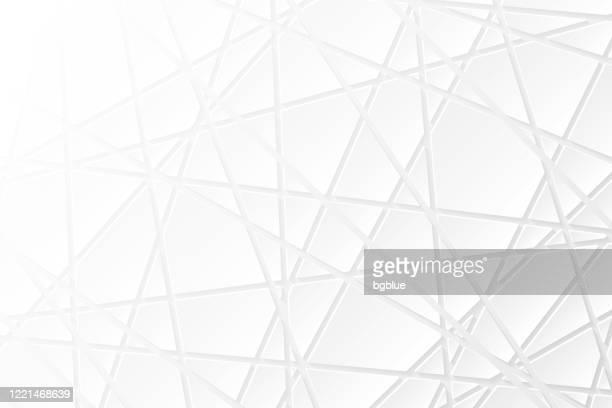 illustrazioni stock, clip art, cartoni animati e icone di tendenza di abstract white background - geometric texture - triangolo forma bidimensionale