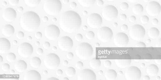 抽象的な白い背景 - 幾何学模様 - 穴点のイラスト素材/クリップアート素材/マンガ素材/アイコン素材