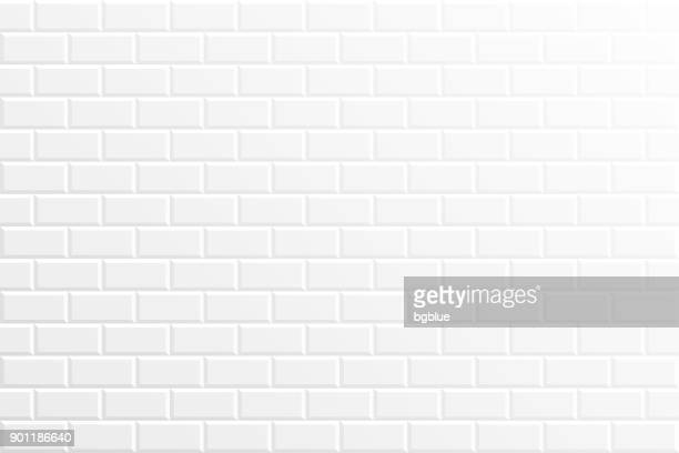 abstract white background - geometric texture - brick stock illustrations