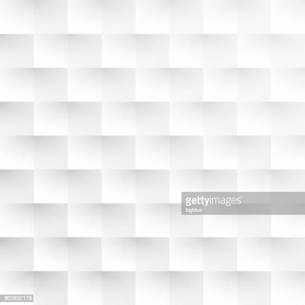 abstract white background - geometric texture - square stock illustrations