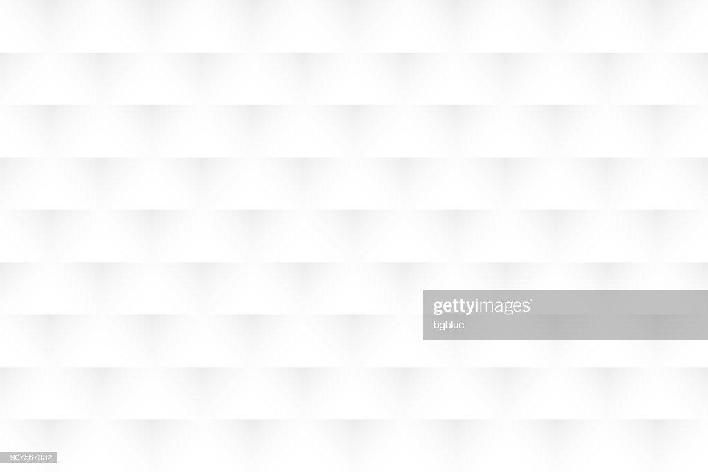 Abstrakte weißen Hintergrund - geometrische Struktur : Stock-Illustration