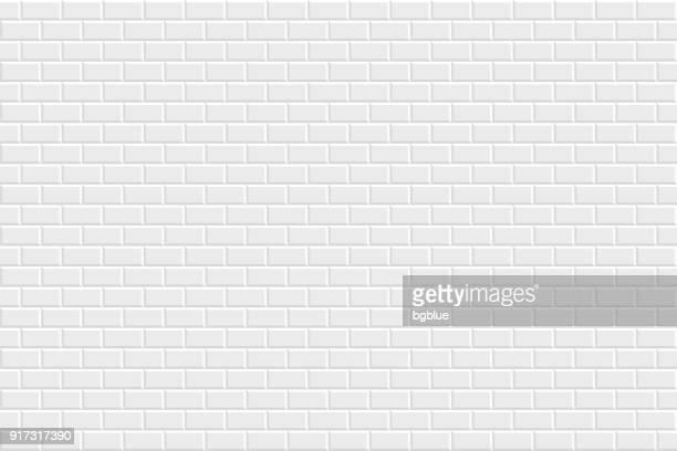 ilustrações, clipart, desenhos animados e ícones de abstrato branco - textura geométrica - parede