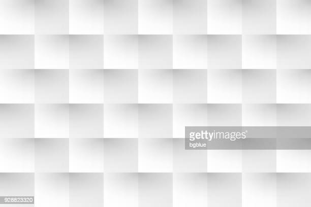 abstract white background - geometric texture - square composition stock illustrations, clip art, cartoons, & icons