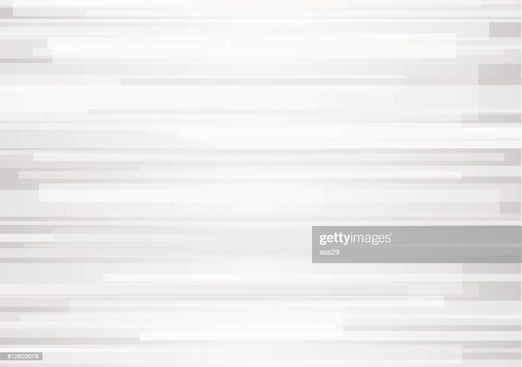 Abstract white geometric overlap on gray background