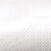 Abstract white & grey geometric background with copyspace area