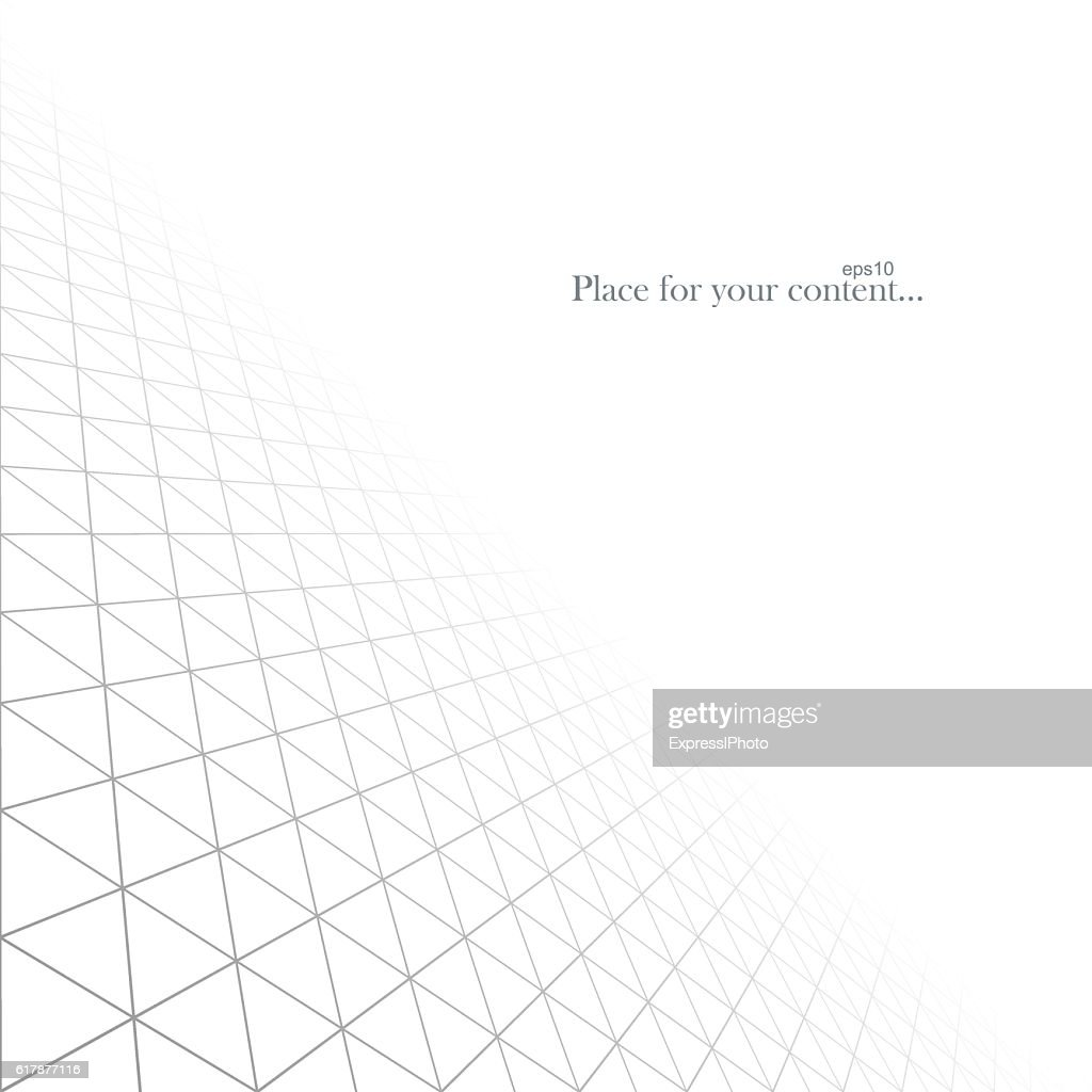 Abstract white infinite background. Vector illustration eps10.