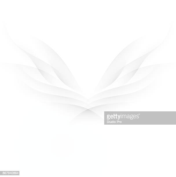 abstract wings - spirituality stock illustrations