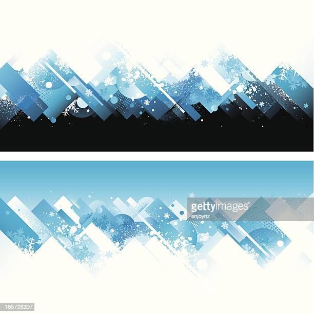 Abstract winter Hintergrund