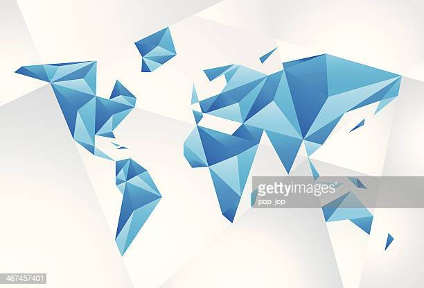 Carte Du Monde Origami.Illustrations Et Dessins Animes De Origami Getty Images