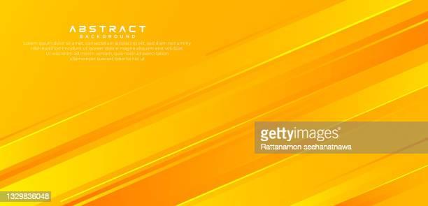abstract yellow orange gradient geometric vector