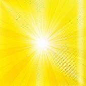 Abstract yellow brighy summer background.
