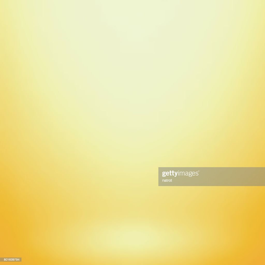 Abstract yellow gradient. Used as background for product display