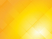 abstract yellow halftone dotted background