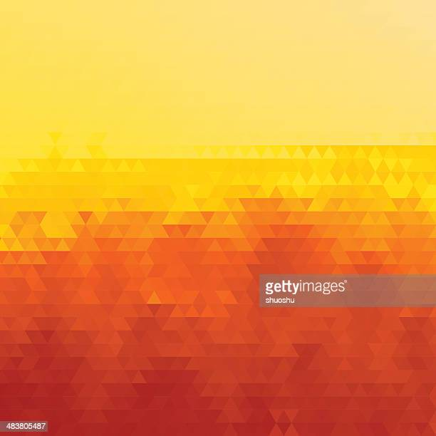 abstract yellow rhombus pattern background