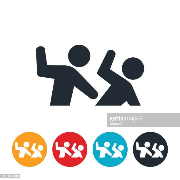 abuse icon - slapping stock illustrations, clip art, cartoons, & icons