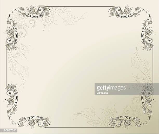 Acanthus ornamental  Frame
