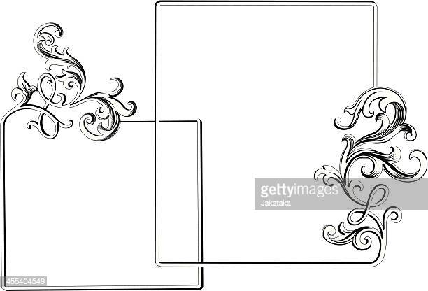 Acanthus ornamental Frame.