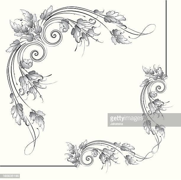Acanthus Scroll Corner