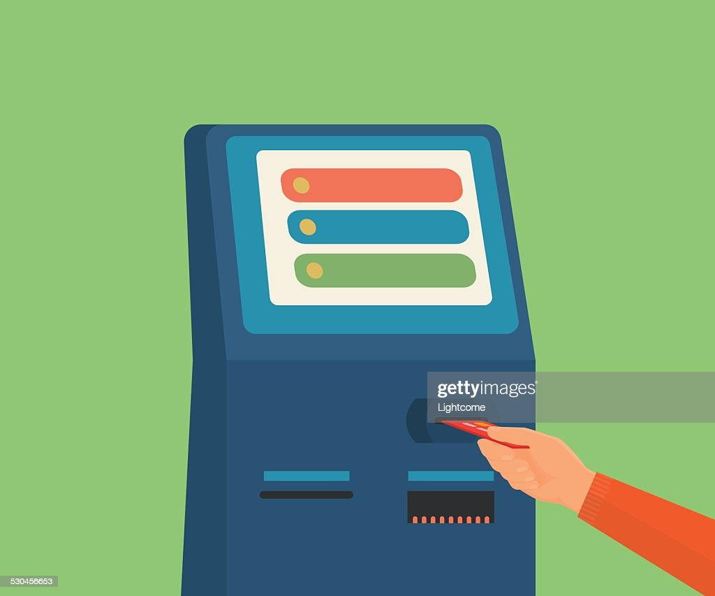 access to payment terminal